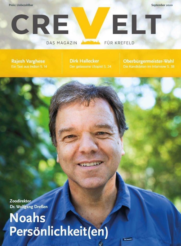 Titelseite: CREVELT Ausgabe 09-020