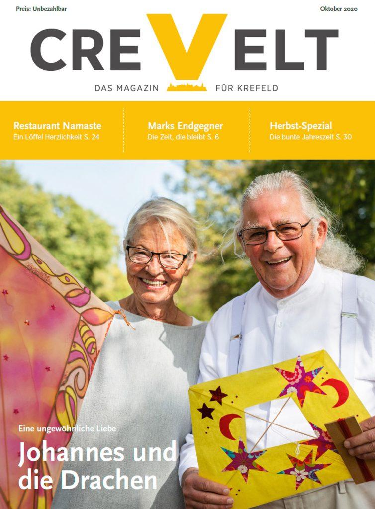 Titelseite: CREVELT Ausgabe 10-020