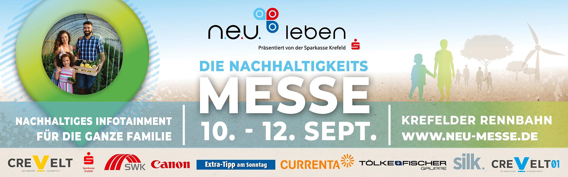 n.e.u. leben - Die Nachhaltigkeits-Messe in Krefeld